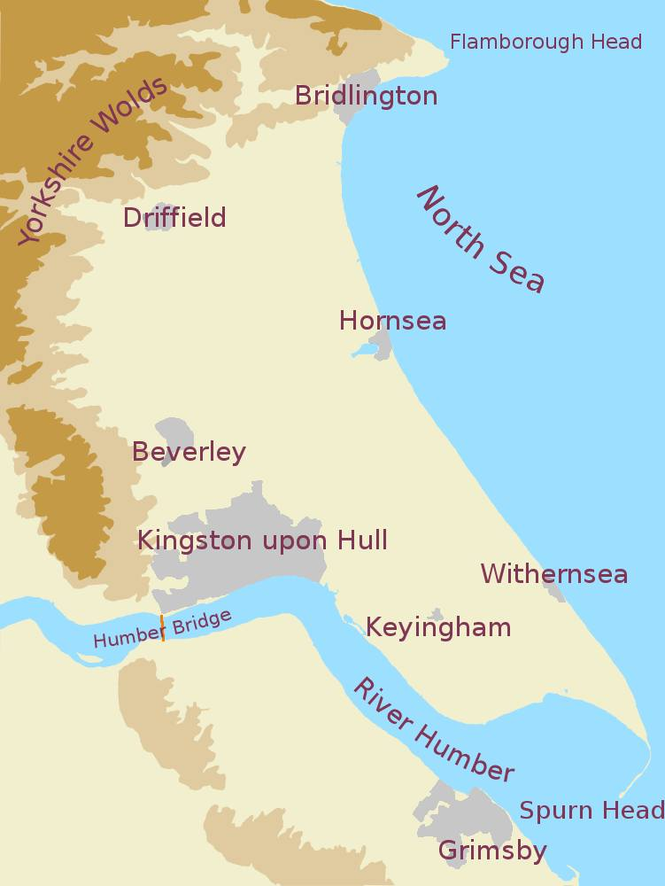 holderness map